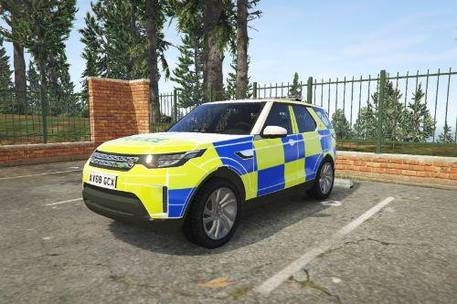 2018 Land Rover Discovery 5 Suffolk Constabulary skin [Discontinued]