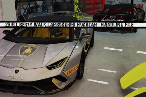 Handling for Stunt Motorsports' 2018 Liberty Walk Lamborghini Huracan