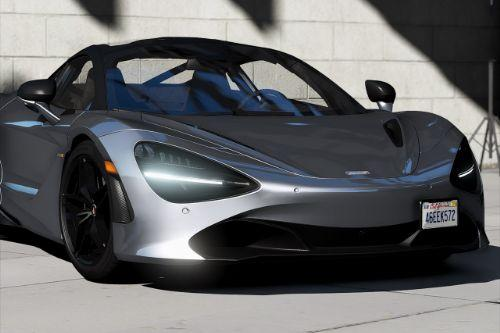 2018 McLaren 720S [Add-On | Extras | Template]