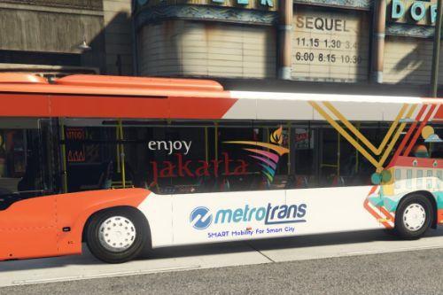 2018 Mercedes-Benz Citaro | Metrotrans - Transjakarta