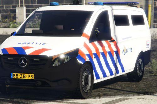2018 Mercedes-Benz Vito Nederlandse Politie Arrestanten Vervoer [REPLACE] [ELS]