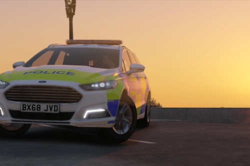 2018 Metropolitan Police Ford Mondeo Marked [ELS]