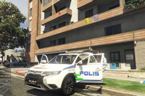 2018 Mitsubishi Outlander Malaysia Police Highway Eagle PDRM