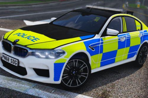 2018 Police BMW M5 F90 [Replace | ELS]