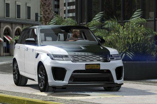 2018 Range Rover Sport SVR (add-on)