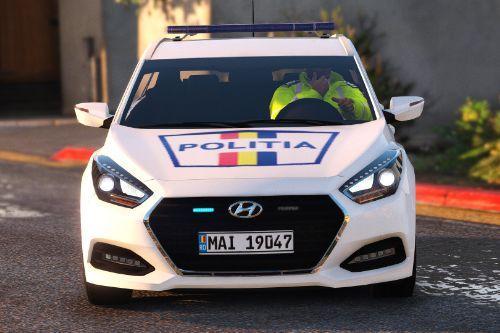[2018] Romanian Politia Hyundai i40 Estate
