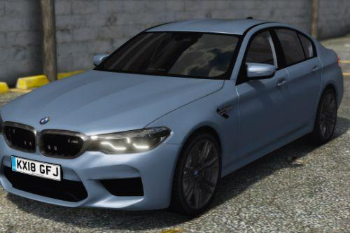 2018 Unmarked BMW M5 F90 [Replace | ELS]