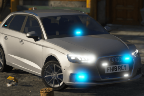 2018 Unmarked Police Audi A3 [ELS]