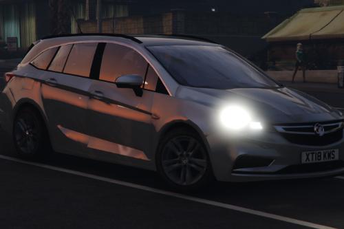 2018 Vauxhall Astra Mk7 - Civilian
