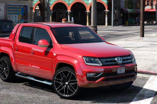 2018 Volkswagen Amarok V6 [Add-on/Replace]