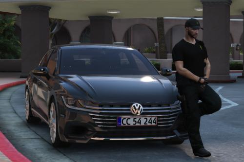 2018 Volkswagen Arteon - Danish Police Unmarked - [ELS/OIV/Replace]