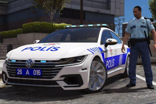 2018 Volkswagen Arteon - Turkish Police Skin