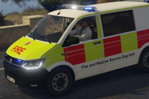 2018 Volkswagen Transporter T6 - Essex Fire & Rescue (Urban Search and Rescue Dog Unit)