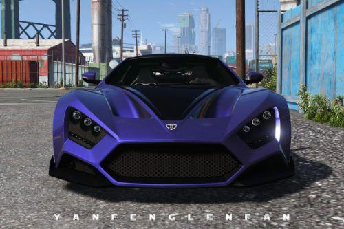 2018 Zenvo TS1 GT [ Add-On | Animated Engine | Tuning]