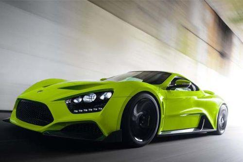 2018 Zenvo TS1 GT Handling - top speed