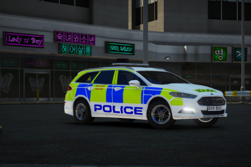 2019/20 Ford Mondeo Estate - Generic Dog Section livery