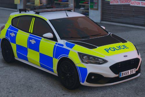 2019/2020 Police Ford Focus ST (ELS Enabled Pack) [Replace | ELS]