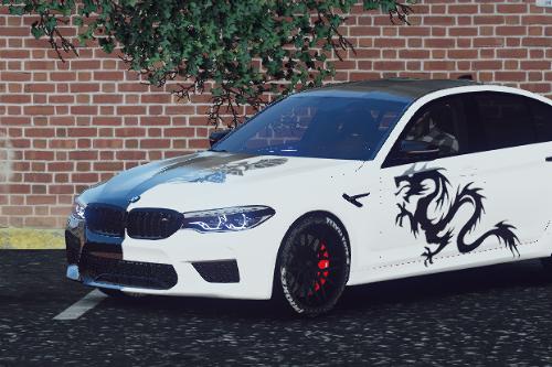 2019 BMW M5 | Dragon Livery