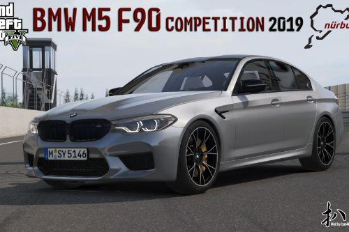 2019 BMW M5 F90 Competition [Add-On | Template]