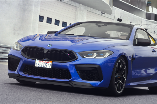 2019 BMW M8 [Add-On]