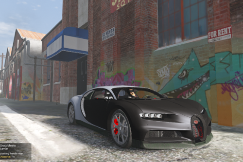 2019 Bugatti Chiron Sport [Addo-On / Replace | Auto-spoiler|Analog/Digital Dials]