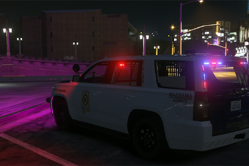 2019 Chevrolet Tahoe Alabama Highway Patrol Livery