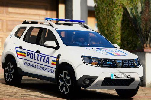 2019 Dacia Duster Politia Romana