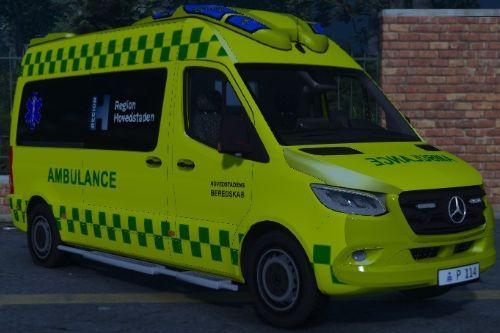 2019 Danish Mercedes Sprinter Otaris Ambulance [ELS]