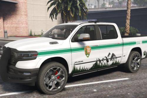 2019 Dodge Ram Park Ranger [ADDON]