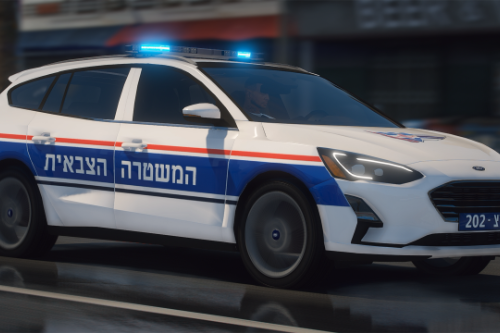 2019 Ford Focus | Israeli Military Police Corps | ELS