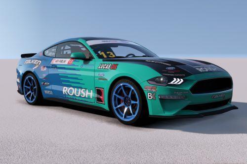 [2019 Ford Mustang GT]Formula Drift FALKEN livery