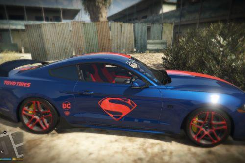 2019 Ford Mustang GT (Superman Livery) DC