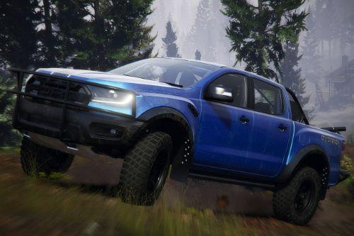 2019 Ford Ranger Raptor [Add-On | Extras | Template | RHD]