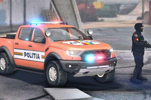 2019 Ford Ranger Raptor Politia Romana