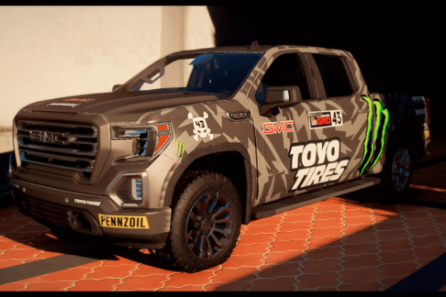 2019 GMC Sierra AT4 [Add-On / FiveM | Tuning | Template]