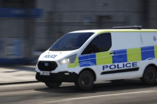 2019 Greater Manchester Police Ford Transit [ELS]