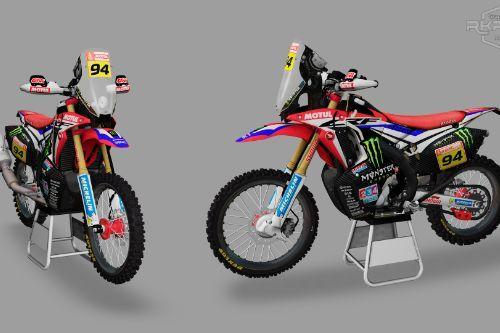 2019 Honda CRF450 Rally