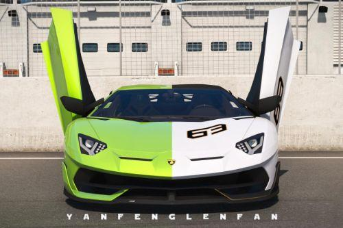 Lamborghini Aventador SVJ / SVJ 63 Anniversary Edition [Add-On l Template]