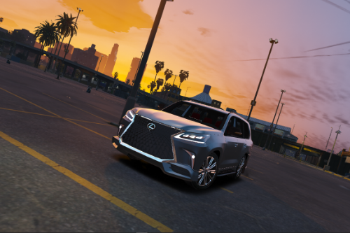 2019 Lexus LX570 Supersport [Add-On / Replace]