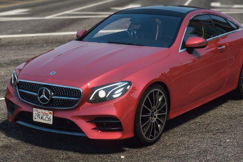 2019 Mercedes-Benz E400 Coupe 4matic (C238) [Add-On | Replace]