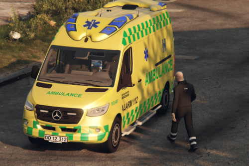 2019 Mercedes Sprinter Danish Ambulance