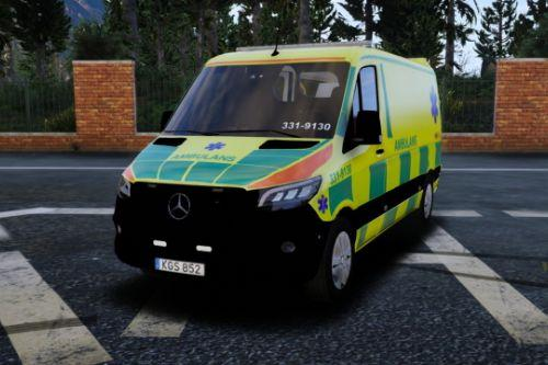 2019 Mercedes Sprinter Swedish Ambulance | ELS