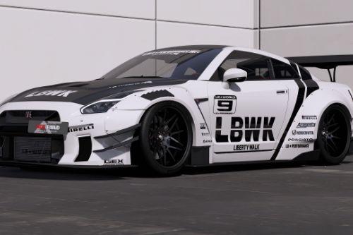 [2019 Nissan GT-R Liberty walk LB Performance]LBWK livery