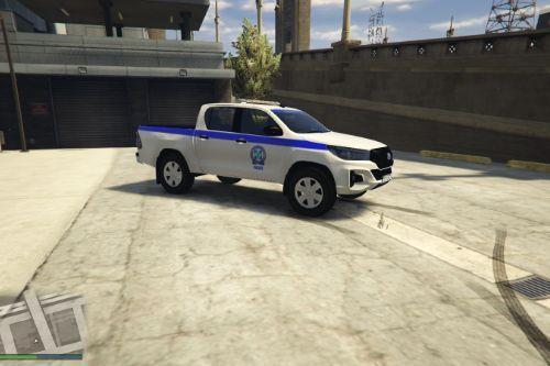 2019 Toyota Hilux|Greek Police Livery|FiveM/GTA V|