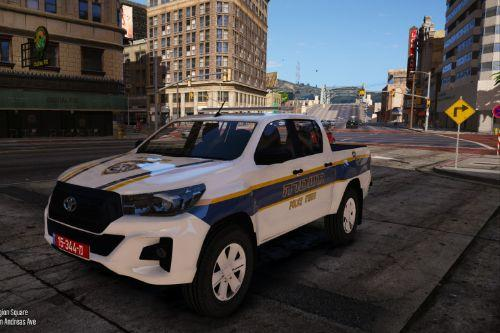 2019 Toyota Hilux-Israeli Police **Livery**