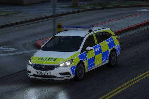 2019 Vauxhall Astra Estate - Response Vehicle