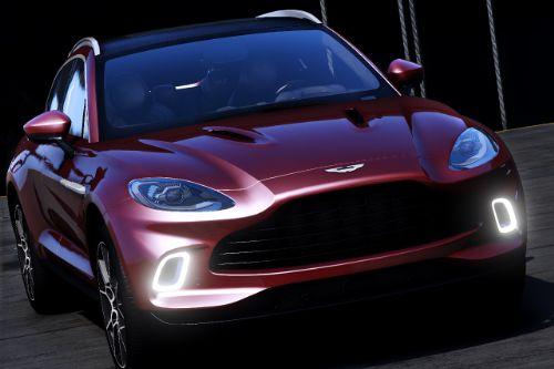 2020 Aston Martin DBX [Add-On | Digital Dials | Template | Extras]