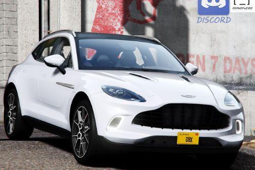 2020 Aston Martin DBX [Add-On | Digital Dials | Template | Extras]