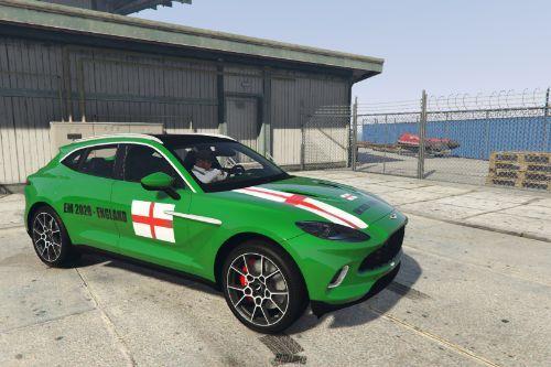 2020 Aston Martin DBX - EM 2020 ENGLAND [Paintjob]