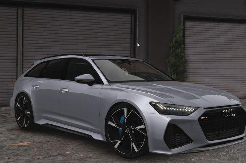 2020 Audi RS6 C8 Avant [Add-On | Extras | Tuning | Template]